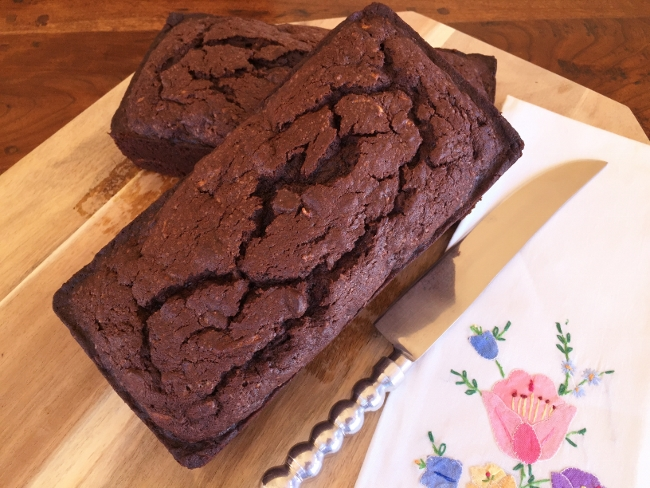 Double Chocolate Zucchini Loaves – Recipe! Image 1