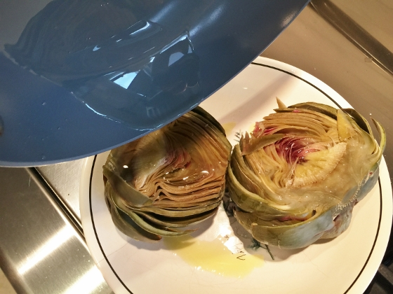 Grilled Artichoke with Toasted Garlic & Fig Butter 066 (560x420)