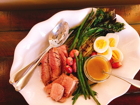 Grilled Nicoise Salad – Recipe! Image 1