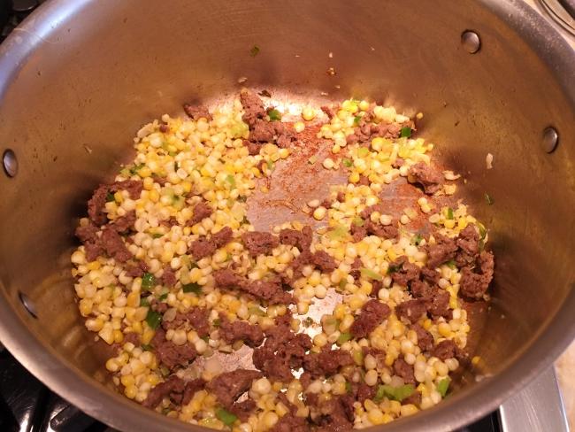Merguez Sausage & Sweet Corn Pasta 028 (650x488)