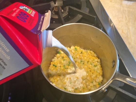 Pan Seared Halibut with Sweet Corn & Jalapeno Sauce 007 (560x420)
