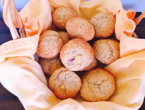 Peach Buttermilk Muffins – Recipe!