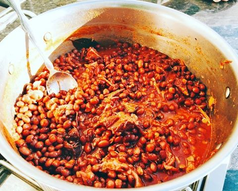 Yee Ha! One of my favorite recipes  Ranchero Beans!hellip