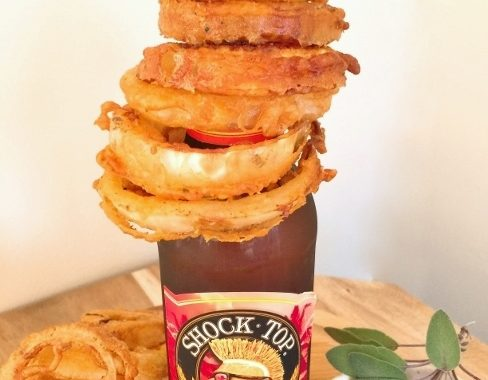 Beer & Sage Battered Onion Rings with Spicy Ketchup – Recipe!