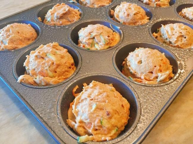 Carrot, Zucchini & Hazelnut Muffins – Recipe! Image 4