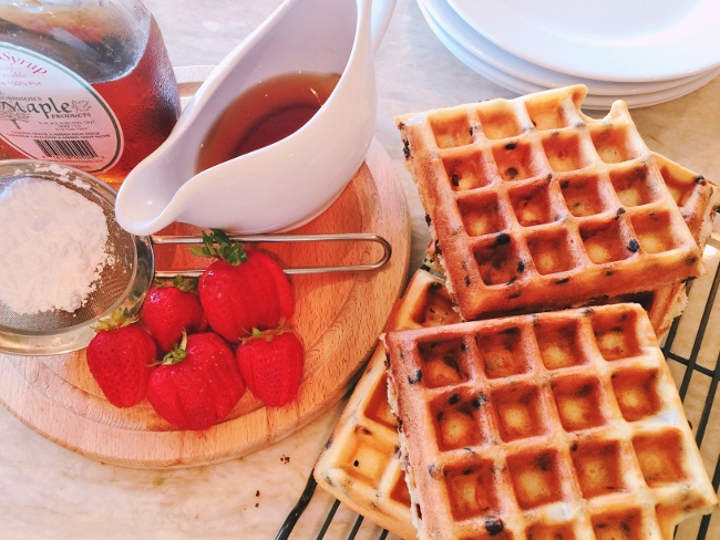Chocolate Chip Waffles – Recipe! Image 2