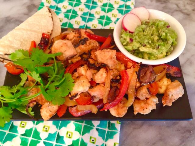 Salmon & Shrimp Fajitas – Recipe! Image 1