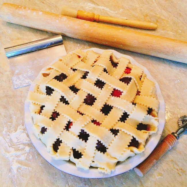 Make Ahead Cherry Pie – Recipe!  Great for the Holidays! Image 1