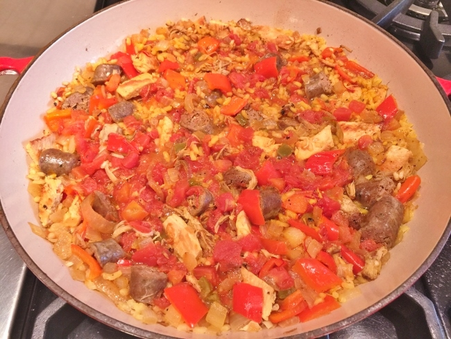 Stovetop Paella – Recipe! Image 4