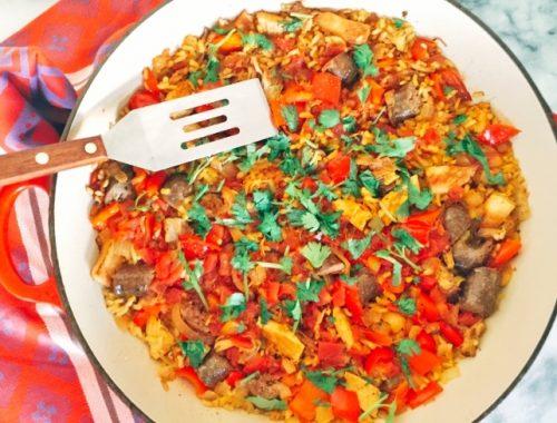 Stovetop Paella – Recipe!