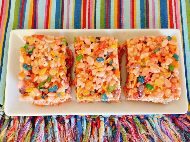 Tutti Frutti Rice Krispies Treats – Recipe! Image 1