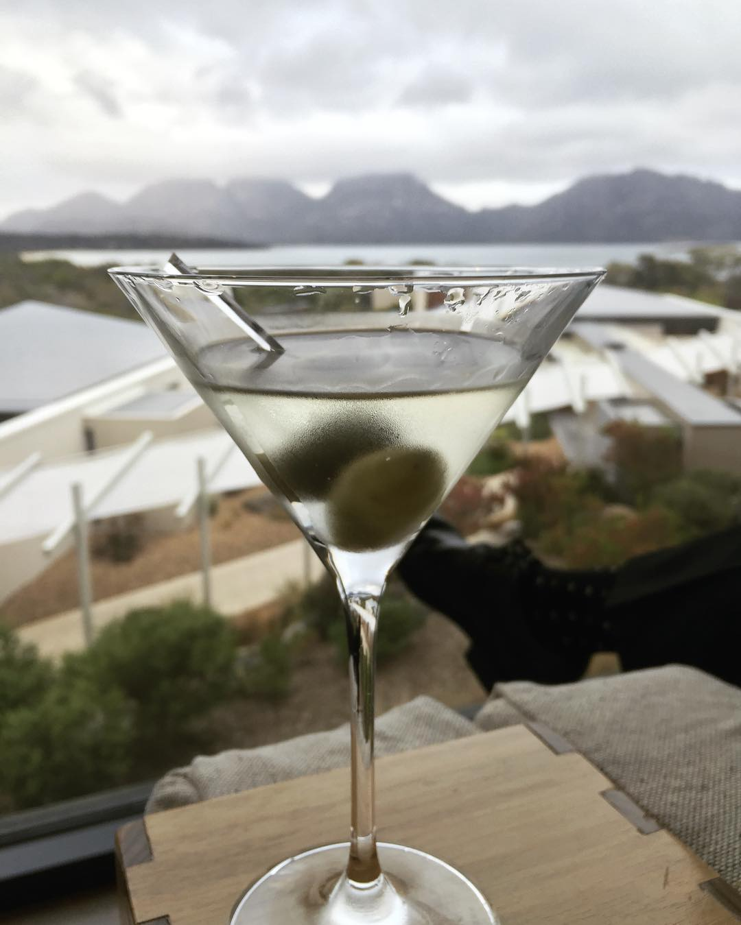 Its a Dirty Martini kind of night!! itravel tasmania livelovelaughfoodhellip