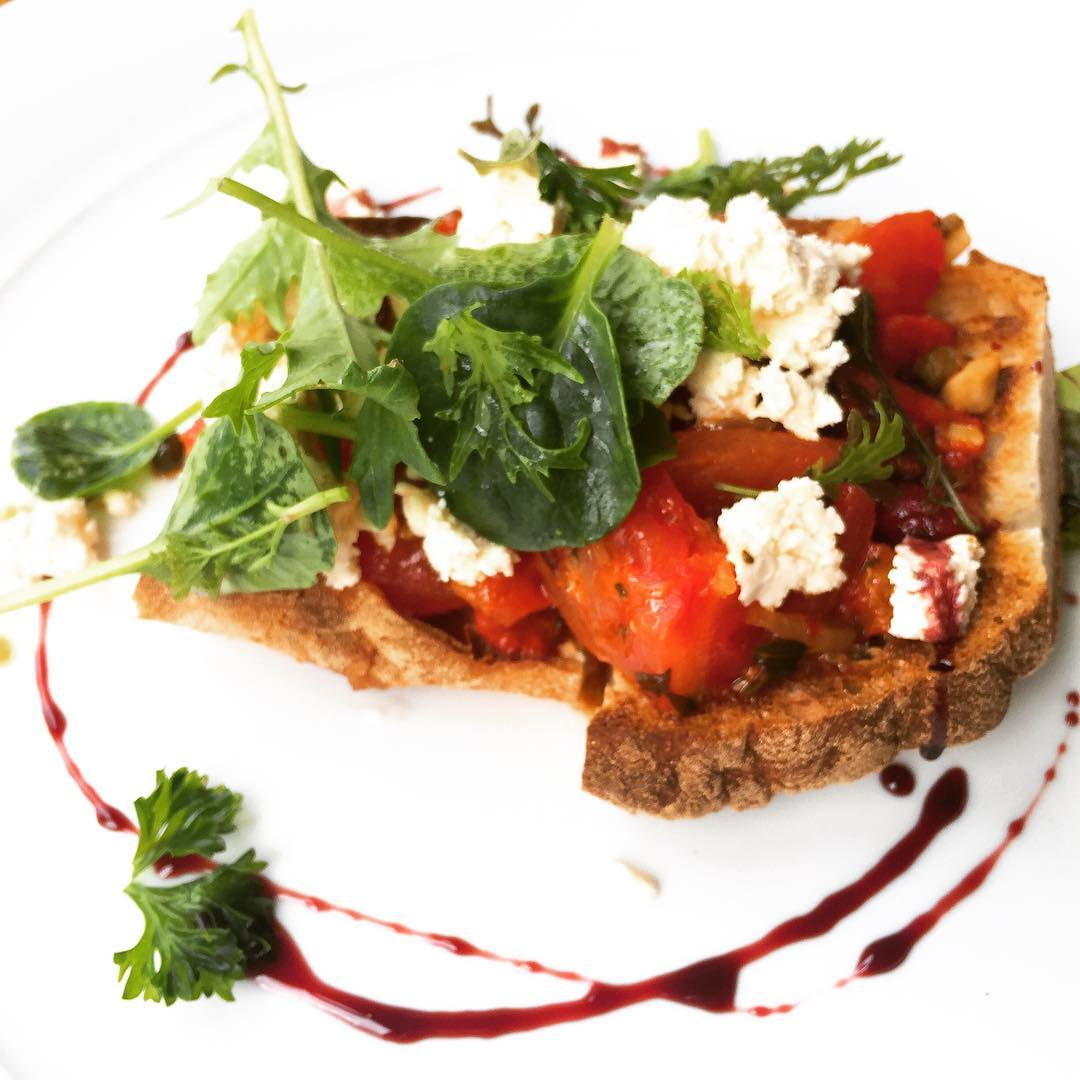 Im definitely making this Breakfast Bruschetta when I get home!!hellip