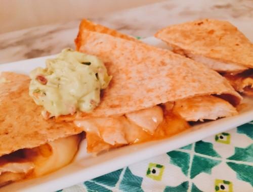 Buffalo Chicken Quesadillas – Recipe!