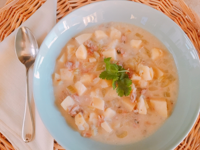 Best Clam Chowder – Recipe!  National Clam Chowder Day! Image 1