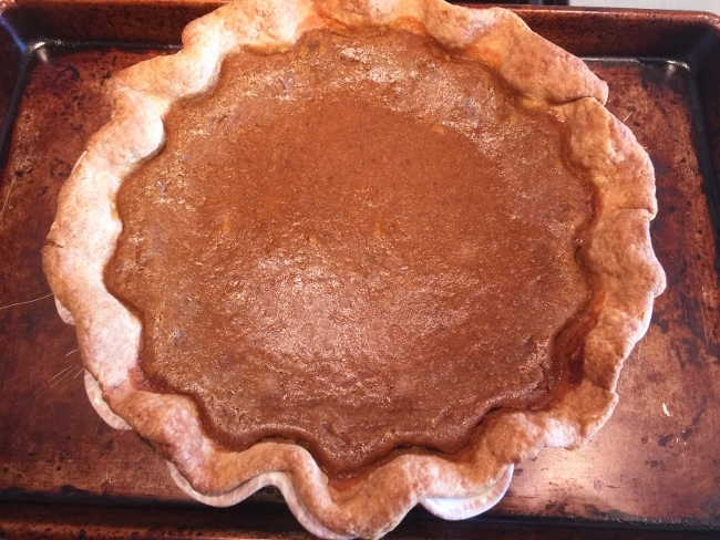 Pumpkin Pie with Brown Sugar Meringue – Recipe! Image 2