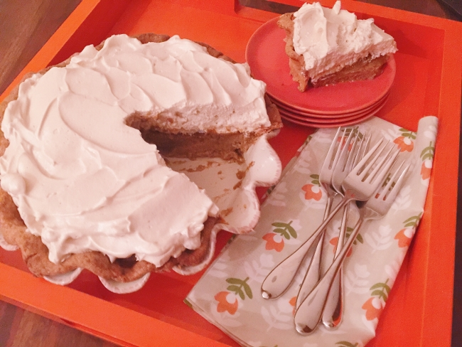 Pumpkin Pie with Brown Sugar Meringue – Recipe! Image 1