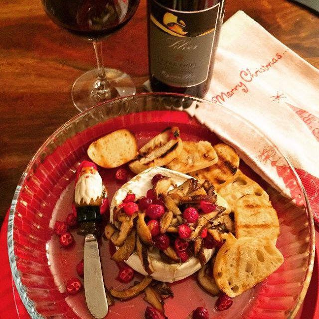 Serve something festive amp flavorful  Truffle Brie with Sautedhellip