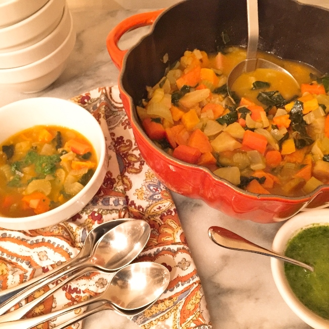 Roasted Root Vegetable Soup – Recipe! Image 2