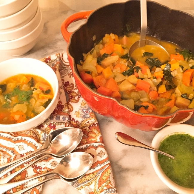 Roasted Root Vegetable Soup – Recipe! Image 1