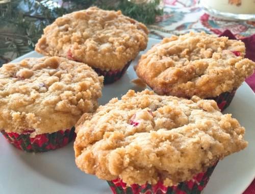 Cranberry Crumb Muffins – Recipe!