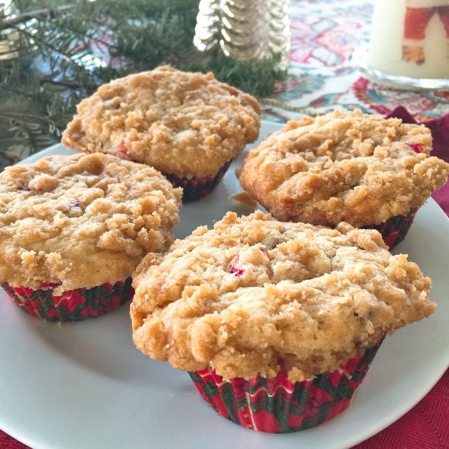 Cranberry-Crumb Muffins – Recipe! Image 1