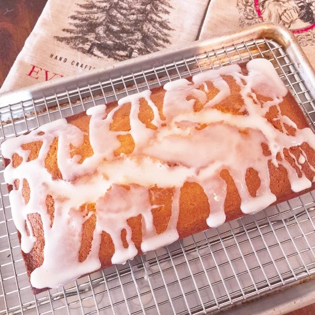 Gluten-Free Eggnog Pound Cake – Recipe! Image 1