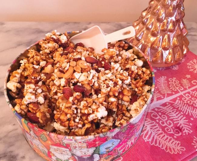 Nutty Holiday Caramel Corn – Recipe! Image 1