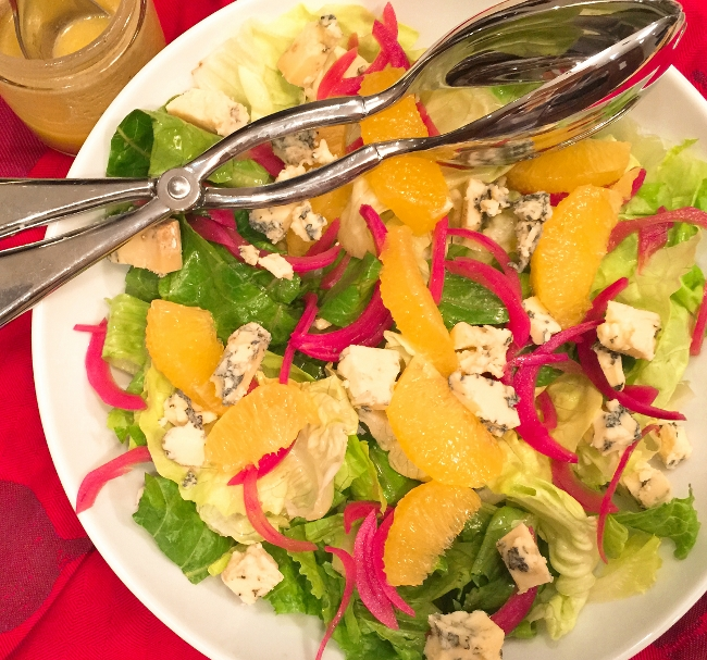 Orange, Pickled Red Onion & Stilton Salad – Recipe! Image 1