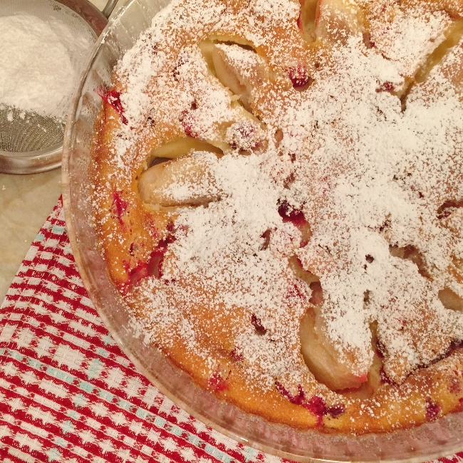 Pear & Cranberry Clafouti – Recipe! Image 1