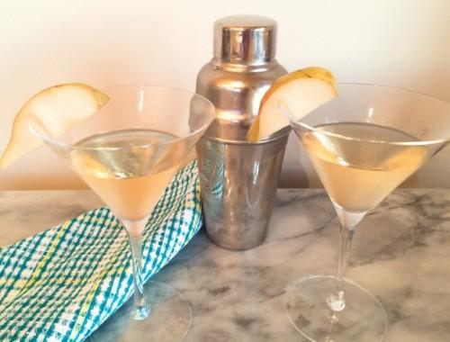 Pear Martini – Recipe!