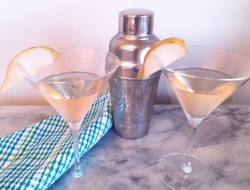Pear Martini – Recipe!