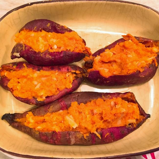 Twice Baked Sweet Potatoes – Recipe! Image 4