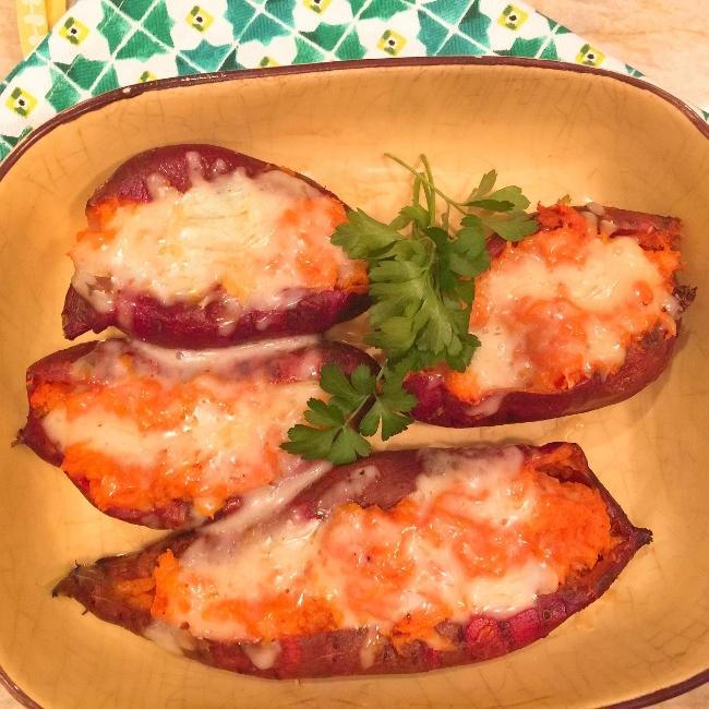 Twice Baked Sweet Potatoes – Recipe! Image 1