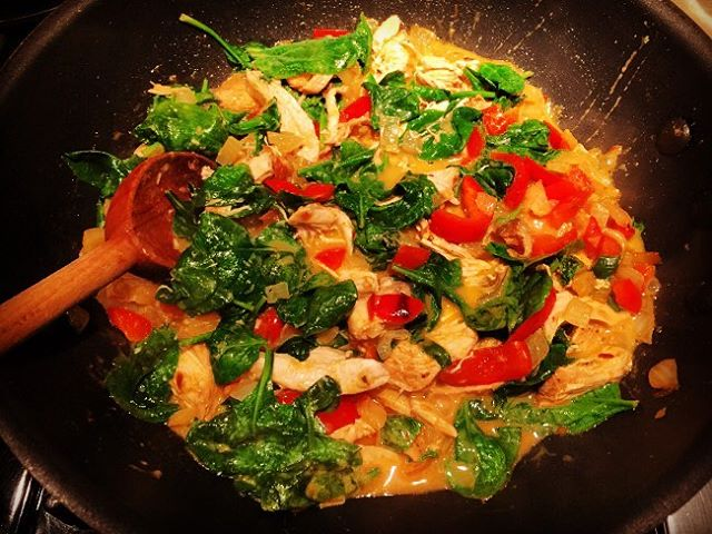 Easy Chicken amp Veggie Thai Curry Recipe!! Posted on myhellip
