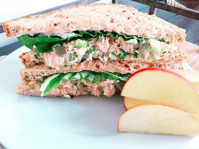 Craving this right now  Tuna Salad Sandwich Recipe!! Justhellip
