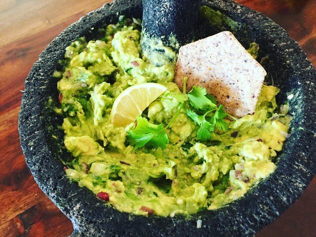Ahhh the weekendSplurge with some Authentic Molcajete Guacamole! Creamy Spicyhellip