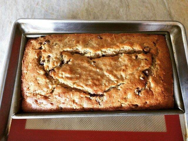 Whole Wheat Chocolate Chip Zucchini Bread! Love it! livelovelaughfood zucchinihellip