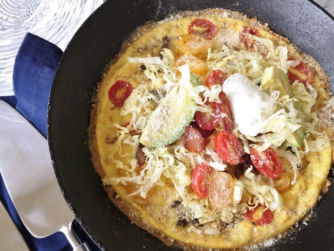 Bacon, Lettuce, Tomato & Avocado Frittata – Recipe! Image 1