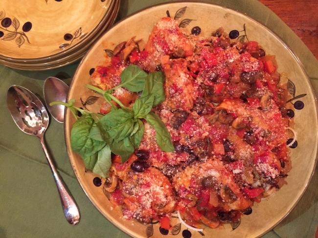 Chicken Cacciatore – Recipe! Image 1