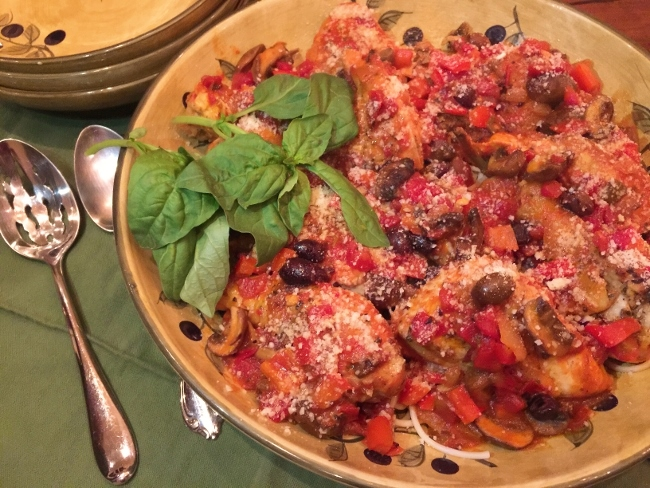 Chicken Cacciatore – Recipe! Image 2