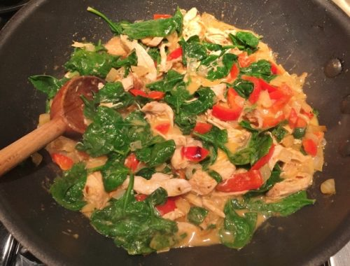 15-Minute Chicken & Vegetable Thai Curry – Recipe!