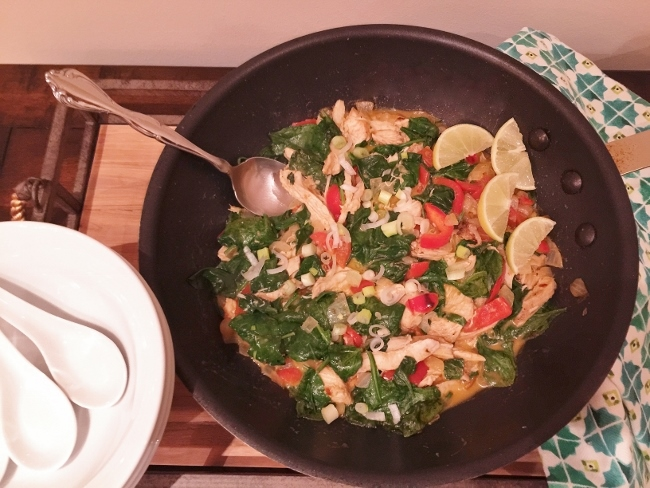 15-Minute Chicken & Vegetable Thai Curry – Recipe! Image 2