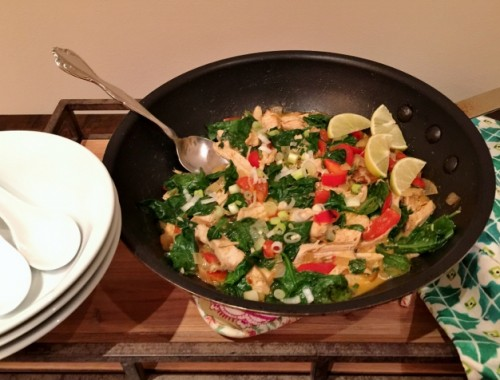 Easy Chicken & Vegetable Thai Curry – Recipe!  15-Minute Meals!
