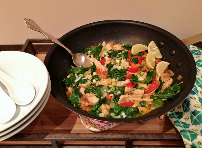 Easy Chicken & Vegetable Thai Curry – Recipe!  15-Minute Meals! Image 1