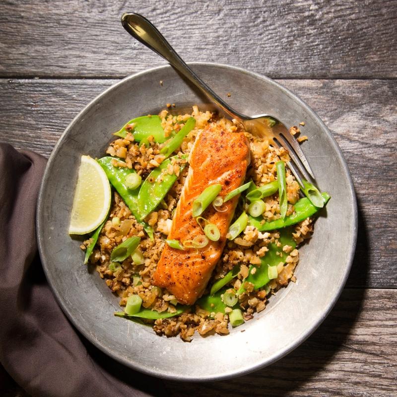 Asian Salmon Riced Cauliflower Bowls – Recipe! Image 3