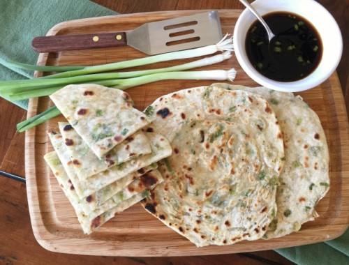 Scallion Pancakes – Recipe!  Celebrate Chinese New Year!