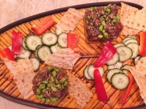 Spicy Tuna, Edamame & Avocado Stacks 062 (650x488)