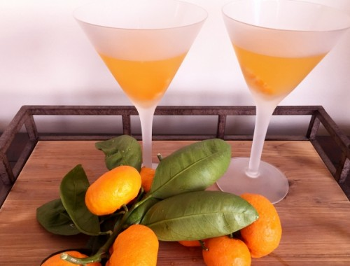 Tangerine Martinis – Recipe!