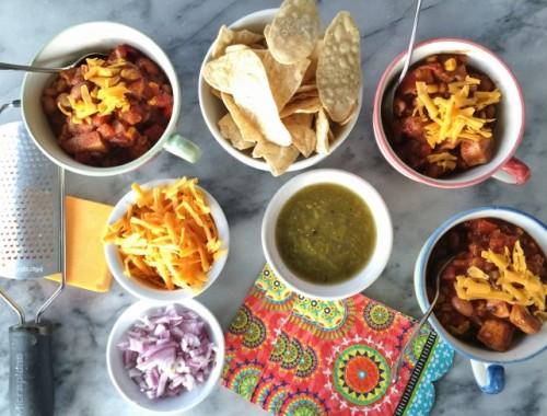 Tex Mex Chicken Chili – Recipe!